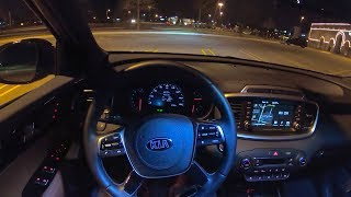2019 Kia Sorento SXL V6 AWD - POV Night Drive (Binaural Audio)