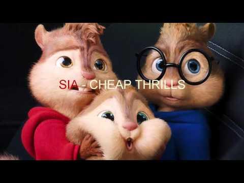 Sia - Cheap Thrills Chipmunks Version