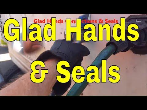 Glad hand hook up