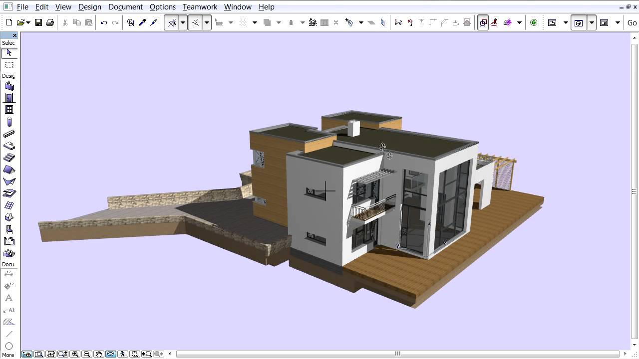 Exporting 3d models to google earth from archicad youtube for Google sketchup converter