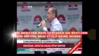 Erdogan spricht Klartext und lässt seinem Frust freien Lauf - Never on TV!
