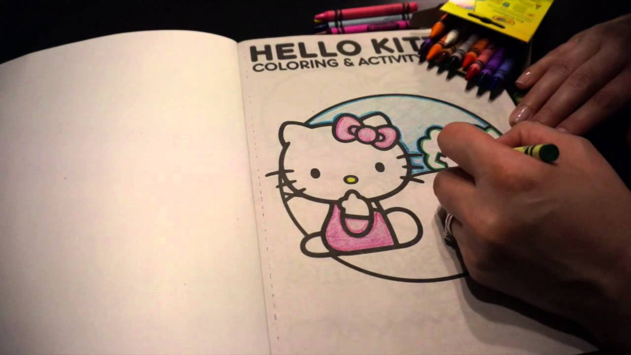 Hello kitty coloring pages k : Hello kitty coloring for kids let s color hello k youtube