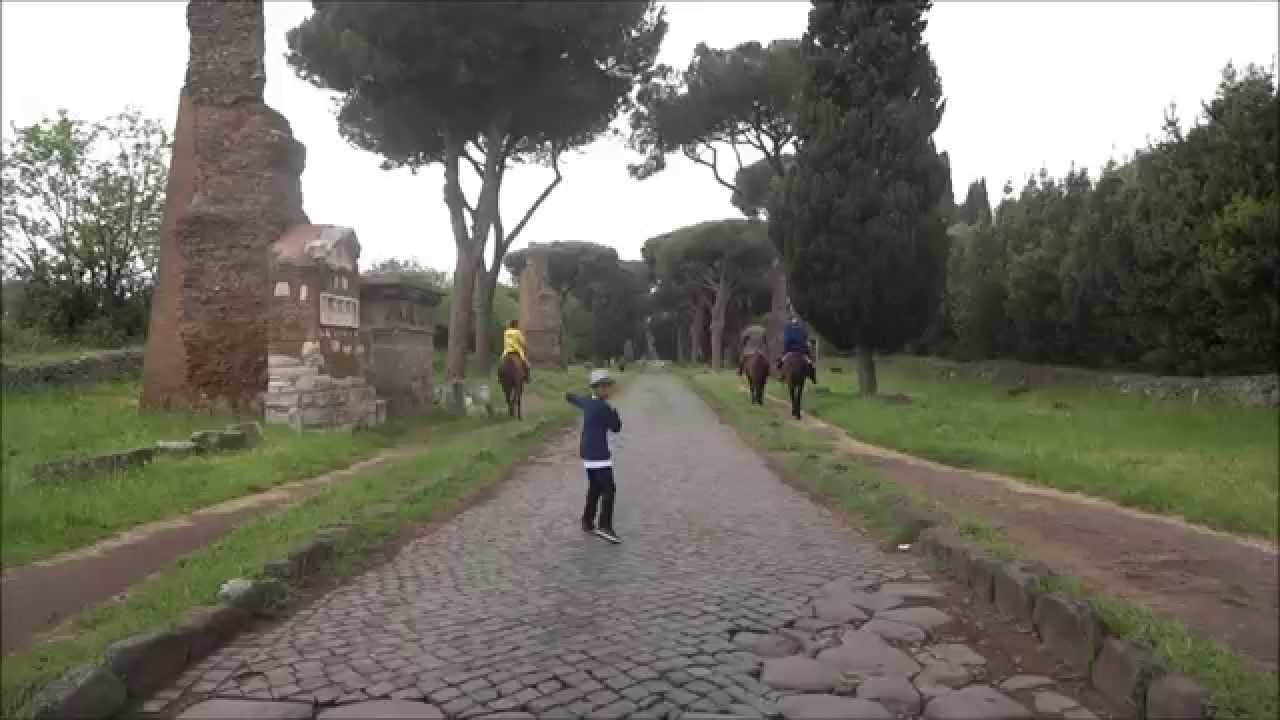 Marco visit via appia antica rome youtube for Cioccari arredamenti via appia