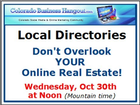 Colorado Business Hangout Oct 30 2013