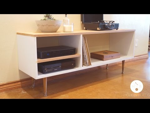 DIY Mid Century Modern Console Table | Modern Builds | EP. 7