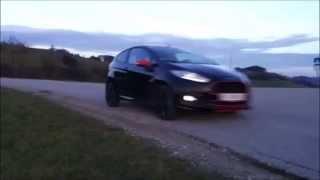 2014 Ford Fiesta Black Edition testdrive
