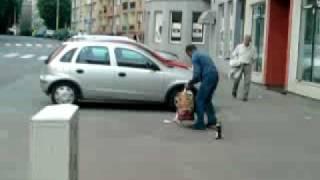 zbieracz butelek- Goleniów