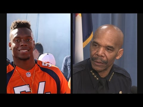 PRESS CONFERENCE: Chief White meets with Brandon Marshall