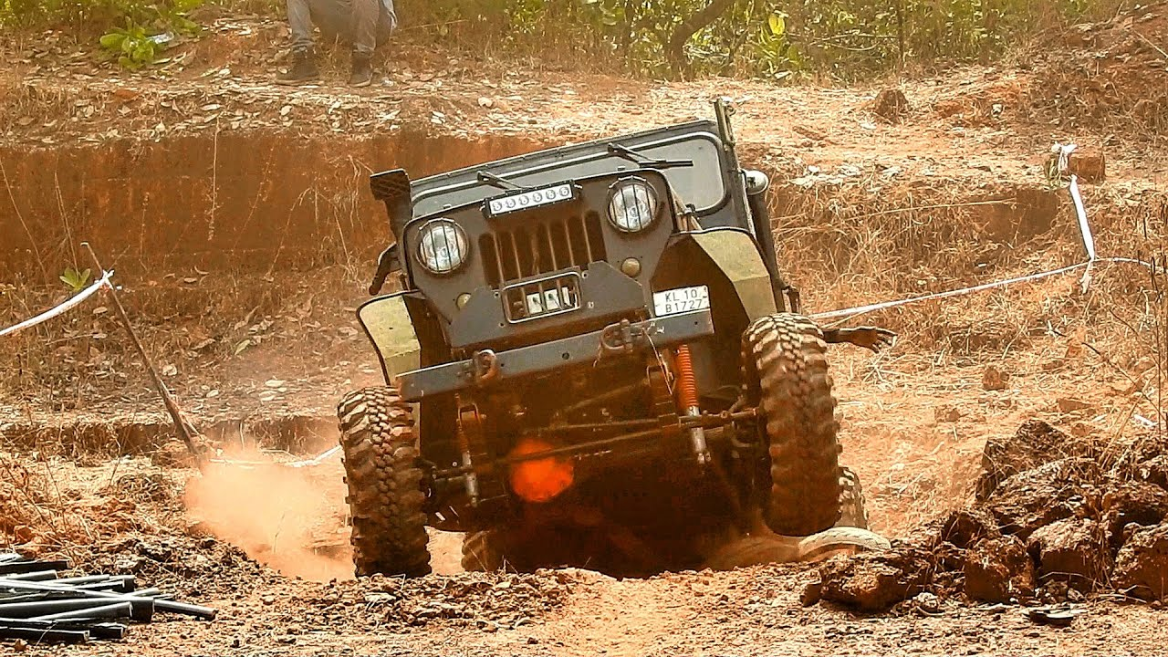 OFF ROAD CHALLENGE 4X4 GYPSY WILLYS JEEP COMPILATION ...