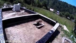 Будівництво будинку з газобетону 1. Фундамент