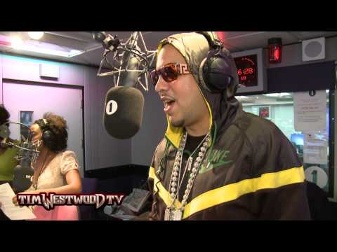 French Montana Interview With Tim Westwood! Speaks Being On Tour With Drake, Working On His Album & More