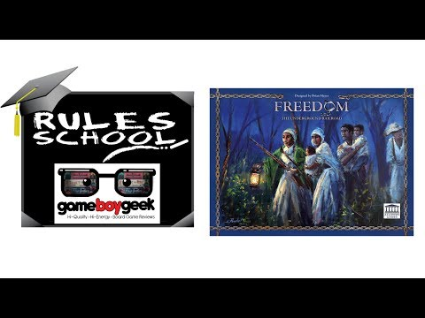 How to Play Freedom: The Underground Railroad (Rules School) with the Game Boy Geek