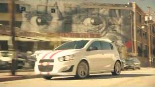 Chevy Chevrolet Sonic Skateboard Car TV Commercial Funny Ad where Theophilus London runs out of Milk