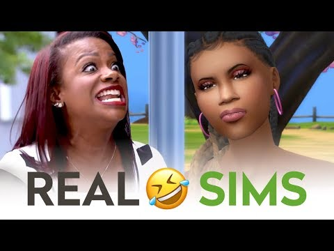 Kandi Burruss Questions Kenya Moore About Marriage | RHOA Sims Comedy