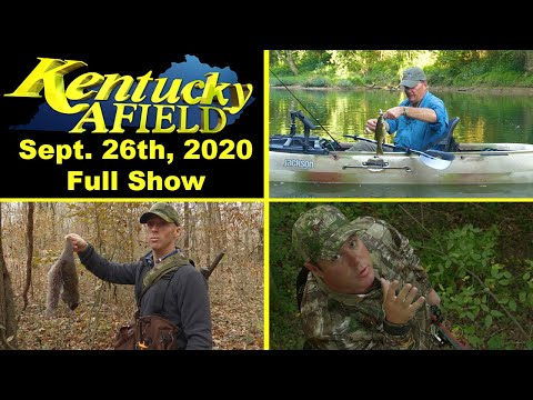 September 26th, 2020 Full Show - Green River Kayak Fishing, Squirrel Hunt, Urban Deer Hunt