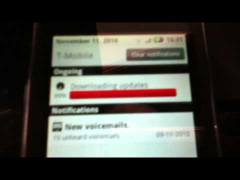 Motorola Cliq Xt software update 1/2