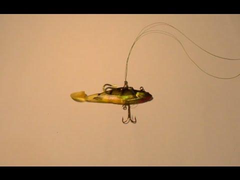 из чего сделать поводок для ловли щуки на живца