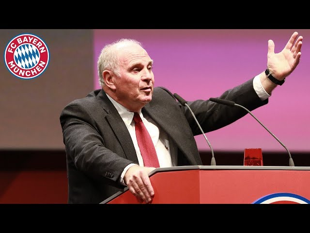 Uli Hoeneß bids farewell   Highlights from the 2019 Annual General Meeting
