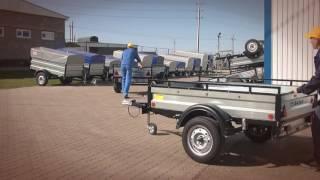 видео автоприцеп для легкового автомобиля