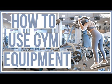 HOW TO USE GYM EQUIPMENT | Lower Body Machines
