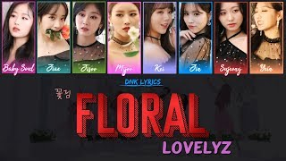 [3.28 MB] Lovelyz (러블리즈) - 꽃점 (Floral) (Lyrics) [Han|Rom|Eng Colour-Coded]