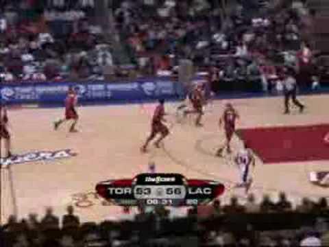 Toronto Raptors vs L.A.Clippers Dec.18/07