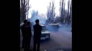доброполье Донецкая обл  военная техника(Video uploaded from my mobile phone., 2014-04-09T19:39:12.000Z)