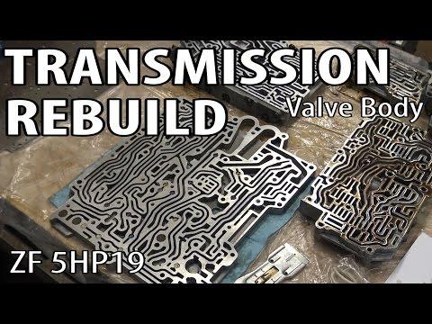 E46 ZF 5HP19 Transmission Rebuild Valve Body BMW 330i 325i