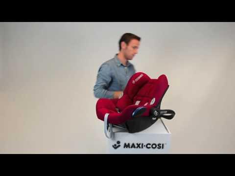 Maxi-Cosi CabrioFix  I  Как снять чехол