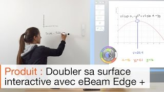 Comment fonctionne le tableau interactif eBeam Edge + ?