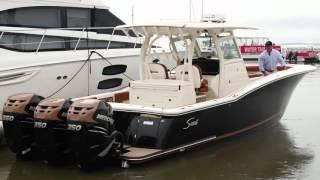 Scout Boats 350 LXF - Walk Thru Video