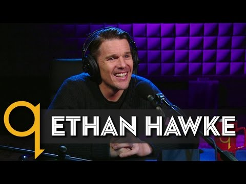 """Ethan Hawke's """"Rules for a Knight"""" in studio q"""