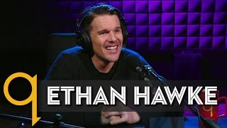 "Ethan Hawke's ""Rules for a Knight"" in studio q"