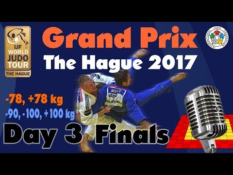 Judo Grand-Prix The Hague 2017: Day 3 - Final Block