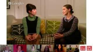 UNIQLO | Live Google+ hangout with Orla Kiely