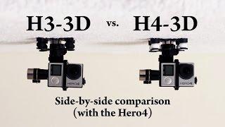 Zenmuse H4-3D vs. H3-3D Gimbal