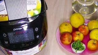 Домашние видео-рецепты - яблочно-мандариновый компот в мультиварке