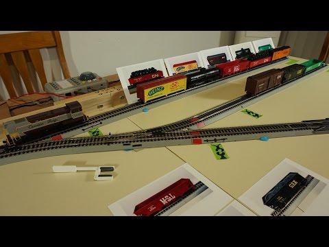 Inglenook Train Shunting Puzzle / Puzzle De Triage Ferroviaire