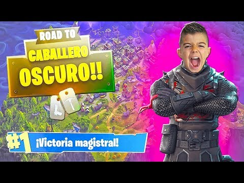 CABALLERO OSCURO!!! FORTNITE