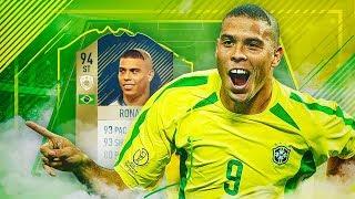 LA MEJOR PLANTILLA DE BRASIL CON RONALDO NAZARIO DE 94!! | FIFA 18
