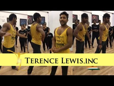 Dance Class @ Terence Lewis Academy.