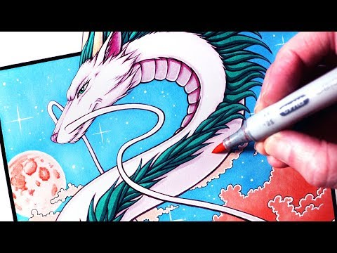 Let S Draw Haku Spirited Away Fan Art Friday Youtube