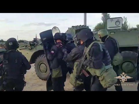 В Волгоградской области удалось задержать банду грабителей.