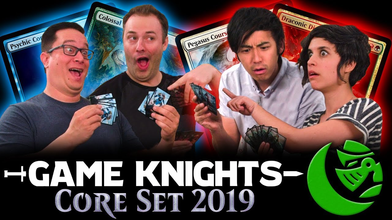 Core Set 2019 W Day9 And Ashly Burch L Game Knights 19 L Magic The Gathering Gameplay 2hg