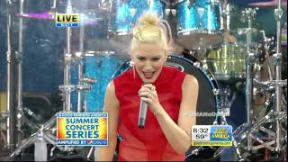 No Doubt - Settle Down [Good Morning America 27 July 2012] HD 720p