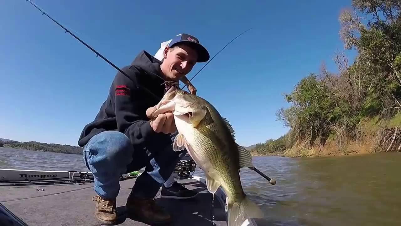 Lake Mendocino Fishing Mid March Youtube