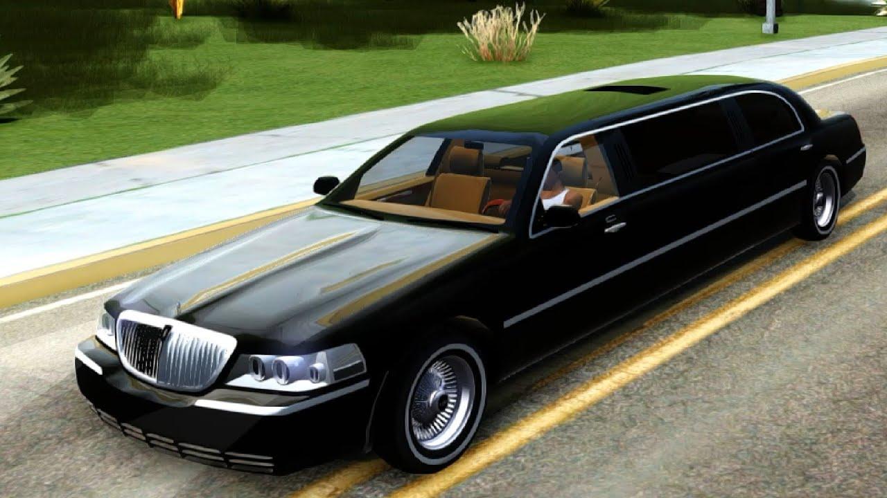 2003 Lincoln Towncar Limo V2 Gta San Andreas Enromovies Youtube