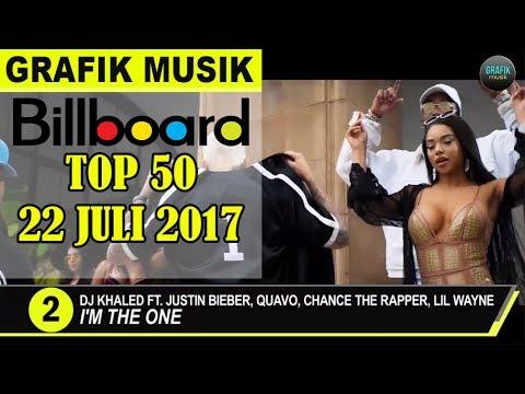 TOP 50 Lagu Barat Populer, 22 Juli 2017 - Prambors & Billboard Hot 100