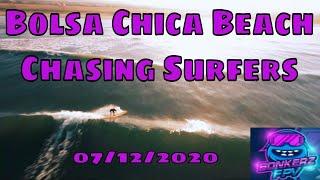 Bolsa Chica Beach FPV Surfing 7 12 2020