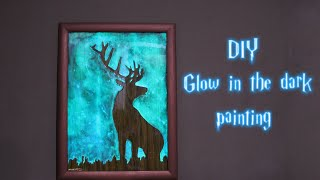 How to Make Glow in the Dark Painting